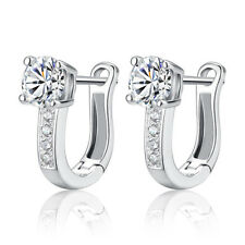 New Jewelry CZ Earrings Drop/Dangle Womens Silver Plated Engagement