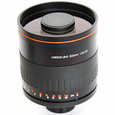 Pro 900mm f/8 HD Manual Focus Telephoto Mirror Lens for Wedding Photography 2015