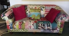 Kelly Rae Roberts Patchwork Sofa / Couch - ÄS NEW