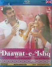 DAAWAT - E - ISHQ - ADITYA ROY KAPOOR - NEW BOLLYWOOD BLU RAY DVD -FREE POST