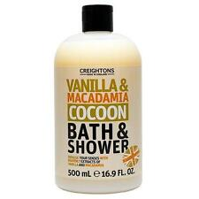 ** CREIGHTONS VANILLA & MACADAMIA COCOON BATH & SHOWER NEW ** 500ml WASH