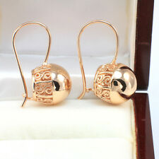 Vintage Rose Gold Filled Large Ball Drop Earrings - Wholesale Price