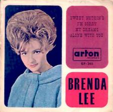 """BRENDA LEE Sweet Nothin's/I'm Sorry/My Dreams/Alone With You ARTON Israel EP 7"""""""