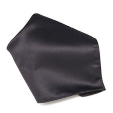 CHARCOAL GREY Hankerchief Pocket Square Hanky Men's Handkerchiefs
