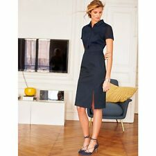 Laura Clement Black  Polo Dress size 12 NBW #339