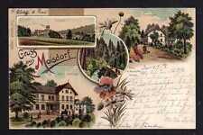 96938 AK Moisdorf Litho 1903 Schloss Forsthaus Johns Gasthaus