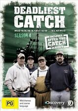 DEADLIEST CATCH - THE COMPLETE 4TH SERIES - DVD