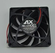 80mm x 80mm x 15mm New Case Fan 12V DC PC CPU Computer Cooling Ball Brg 2 pin