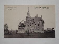 Ansichtskarte Wervik in Belgien, Kasteel van M. Ferrant-Dalle, Feldpost 1917