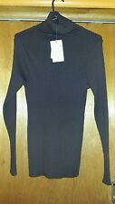MILLERS Chocolate Turtle Neck long Sleeve Winter jumper Size L