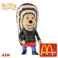 SING MOVIE EUROPE McDonald's Happy Meal Toys 2016 ASH