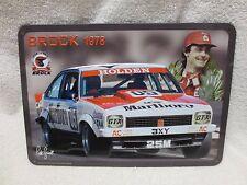 PETER BROCK TIN PLATE 1978 BATHURST WINNER LX A9X