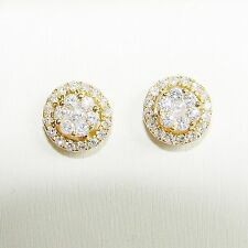 Ohrringe Gold 750 Brillanten 0,58 ct. Ohrstecker Diamanten