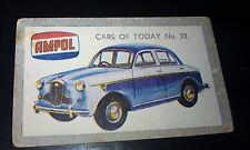 1958 WOLSELEY 1500  Australian AMPOL Oil Swap Card