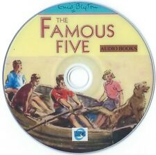 Famous Five by Enid Blyton - Complete 21 Audio Books Collection on 3 x MP3 CD's