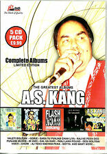 A.S. KANG -THE GREATEST ALBUM LIMITED EDITION-NEW BOLLYWOOD 5 CD SET