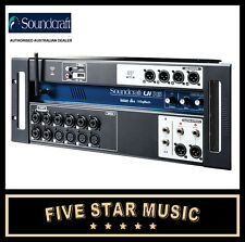 SOUNDCRAFT UI16 REMOTE CONTROLLED 16 INPUT DIGITAL MIXER CONSOLE STAGEBOX - NEW