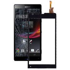 Front-Scheibe Display-Glas für Sony Xperia SP / M35h schwarz