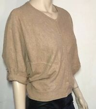 COUNTRY ROAD camel soft wool blend batwing cardigan ~ size XS 8-12  (F96)