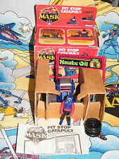 M.A.S.K BOXED INSERT 99% comp PIT-STOP CATAPULT mask with SLY RAX Box kenner