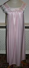 Pink Nylon Nightie Size 14   # Z4