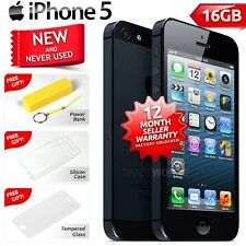 New in Sealed Box Factory Unlocked APPLE iPhone 5 Black 16GB 4G Smartphone