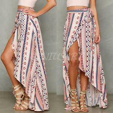 2016 Summer Sexy Women Boho Long Maxi Evening Party Dress Beach Dresses Sundress