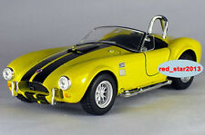 Model Toy 1/32 Diecast Car Alloy Yellow FORD SHELBY COBRA 427 S/C