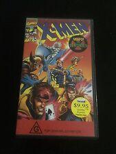 Marvel X-Men  Night Of The Sentinels  [VHS Tape]
