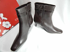 NEW Corelli Women's Short Boots. Brown Leather. Not In Box*. Size 9 1/2