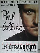 PHIL COLLINS  1994  orig. Concert - KONZERT - Poster 118 x 84 cm BIG POSTER