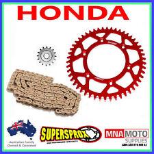 HONDA CRF450R 04 - 16 ALLOY SPROCKET KIT EK RACE CHAIN RED 13 / 49