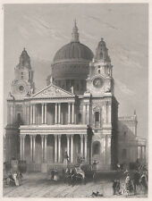 St. Paulskirche in London, um 1860