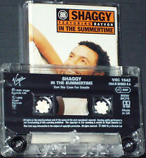 Shaggy featuring Rayvon In The Summertime CASSETTE SINGLE  2 track  Reggae-Pop