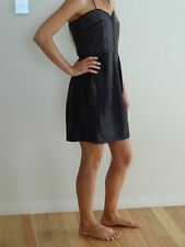 GASP - Strapless, Above The Knee, Black Party Dress- Size Small/Size 8