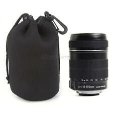 1pc Neoprene DSLR Lens Soft Pouch Protector Case Bag For Canon Nikon Sony L B61