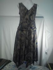 Portmans Ladies Dress in an Animal Skin Abstract Pattern Size M