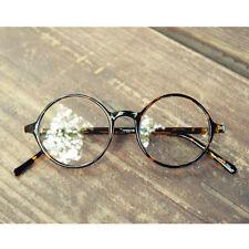 1920s Vintage oliver retro eyeglasses 19R0 Leopard round frames kpop peoples
