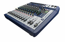 Soundcraft Signature 12, 12 channel mixer with Lexicon FX USB interface