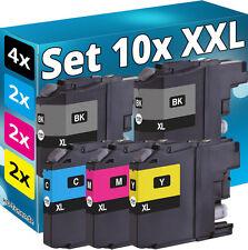 10x XL PATRONEN für BROTHER MFC-J480DW J880DW J4420DW J4620DW J4625DW J5320DW
