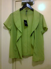PRIVILEGE AUSTRALIA IGHT WEIGHT OPEN FRONT JACKET/CARDI BNWT SZ 16 (D45)
