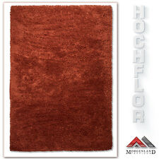 Teppich Hochflor Shaggy 215x150 cm 100% Schurwolle Handgewebt  Ausverkauf % %