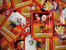 Panini Dragonball Z Warriors -  100 Tüten - 500 Sticker Neu - TOP RAR
