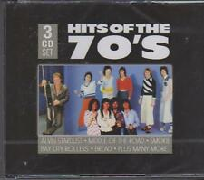 HITS OF THE 70'S - VARIOUS ARTISTS on 3 CD's -  NEW -