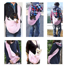 Pet Puppy Doggy Cat Comfy Sling Carrier Pouch Travel Tote Bag Outdoor Handbag