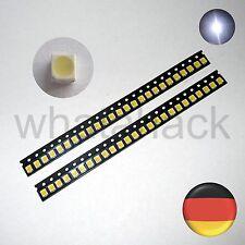 50x kalt weiß SMD LED 3528 PLCC2 PLCC 2 450mcd RoHS 5500K Vishay