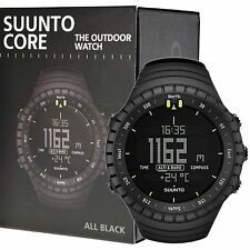 NEW Suunto Core All Black Military Digital Outdoor Watch SS014279010
