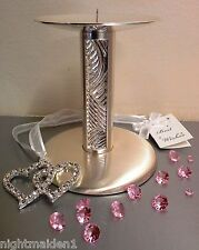 Bridal/Wedding/Engagement/Silver Stainless Steel Pillar/Church Candle Holder