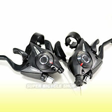 SHIMANO ST-EF51 3x8 Speed Shift/Brake Lever Set , Black