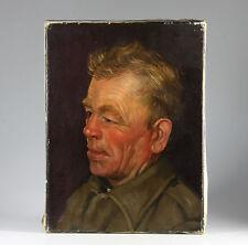 Poträt eines alten Bauern Niederländischer Meister J.H. Eversen 1960